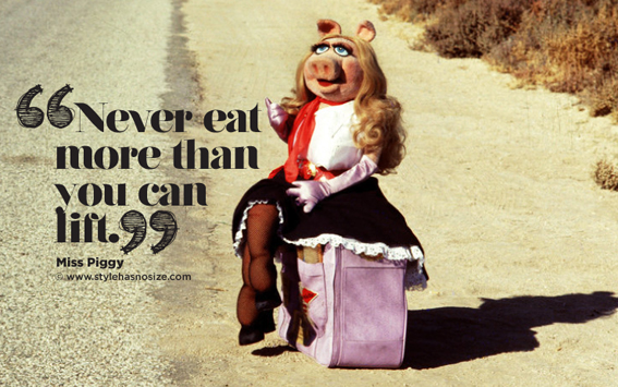 Miss Piggy Quotes About Food miss piggy is love Arc...